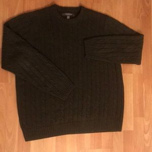 Croft & Barrow Olive Green Sweater